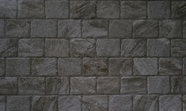 Stone tiles. Gray stone tiles for decoration Royalty Free Stock Photography