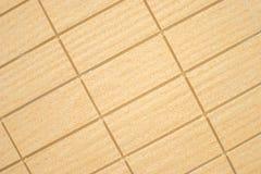 Stone tiles. Light colored rectangular stone tiles Stock Photography