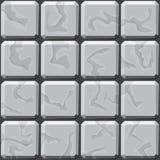 Stone tiles seamless pattern Royalty Free Stock Photo