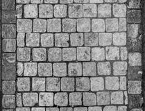 Stone tiles surface Royalty Free Stock Images