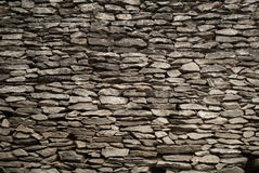 Stone tiles wall Royalty Free Stock Photography