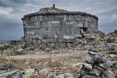 Stone tomb of Kleobulus Royalty Free Stock Photo