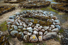 The stone tomb, Northern Europe Royalty Free Stock Image
