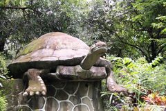 Stone tortoise Stock Photo