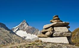 Stone totem Stock Photos