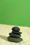 Stone tower. Zen ballance stone tower Royalty Free Stock Image