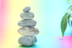 Stone tower in balance Stock Photography