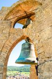 Stone tower of the bell royalty free stock image