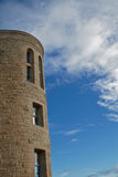 Stone Tower Blue sky HDR Royalty Free Stock Photography