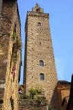Stone Tower Medieval Town San Gimignano Italy Royalty Free Stock Photos