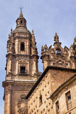 Stone Tower New Salamanca Cathedral Spain Royalty Free Stock Image