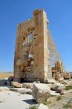 Stone Tower. At Pasargadae in Iran Royalty Free Stock Photography