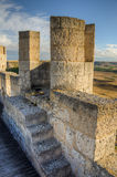 Stone tower of Penafiel Castle, Stock Photo