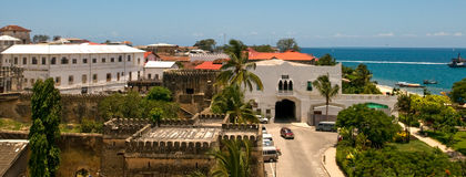 Stone town Stock Photos