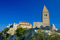 Stone town of Lubenice in Croatia Royalty Free Stock Photo