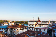 Stone Town Rooftops Royalty Free Stock Image