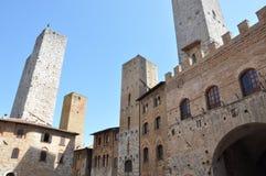 Stone town, San Gimignano Stock Photography