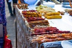 Stone town Zanzibar local street food royalty free stock images