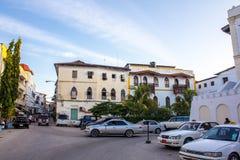 Stone Town Zanzibar Stock Photo