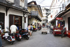 Stone Town Royalty Free Stock Photo