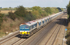 Stone train freight Royalty Free Stock Images