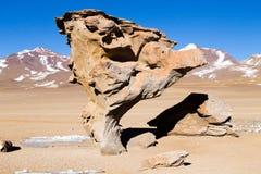 Stone Tree rock, Bolivia. Bolivian landmark. Arbol de Piedra Stock Image