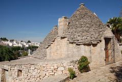 Stone Trullo Stock Photo