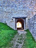 Stone tunel Royalty Free Stock Image