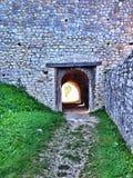 Stone tunel Royalty Free Stock Image