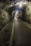 Stone tunnel Royalty Free Stock Photography