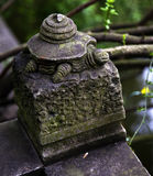 Stone Turtel Temple Sichuan China Stock Photography