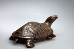 Stone turtle Royalty Free Stock Photography