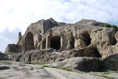 stone upliscikhe miasta. Obrazy Royalty Free