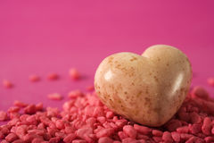 Stone valentine Royalty Free Stock Photos