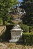 Stone vase, Jardines de la Granja de San Ildefonso, monuments in Royalty Free Stock Image