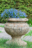 Stone vase Royalty Free Stock Photo