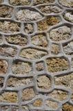 Stone Wal Design Royalty Free Stock Photo
