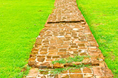 Stone Walkway Stock Photography
