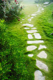 Stone walkway stock photos
