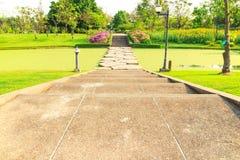 Stone walkway across water Royalty Free Stock Photo