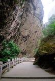 Stone walkway China Royalty Free Stock Images