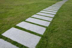 stone walkway Stock Photography