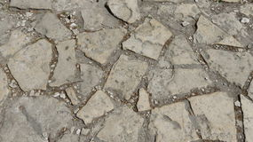 Stone walkway. Old stone walkway from the middle ages Stock Image