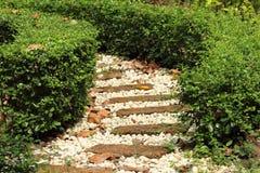 Stone  walkway Royalty Free Stock Photo