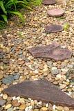 Stone walkway Stock Images