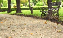 Stone walkway texture Stock Photo