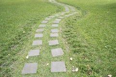 Stone walkway winding Royalty Free Stock Images