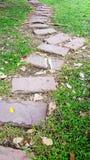 Stone walkway Royalty Free Stock Image