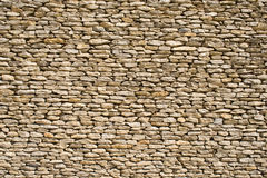 Stone wall 1. The detail of a wall made of stones Stock Photography