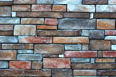 Stone Wall. Stone and masonry wall Royalty Free Stock Image